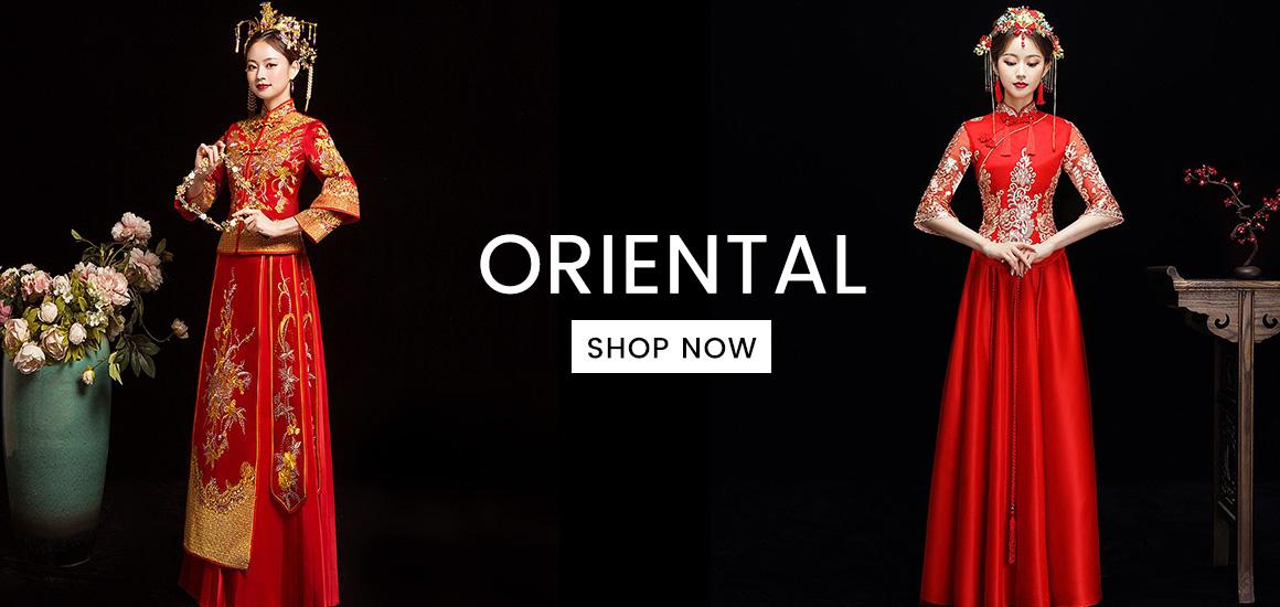 Oriental Wedding Gowns