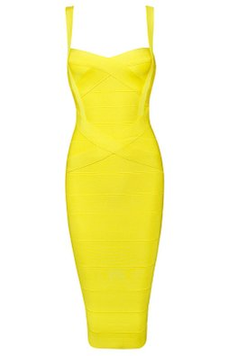 Assorted Colours Sweetheart Cross Bandage Dress
