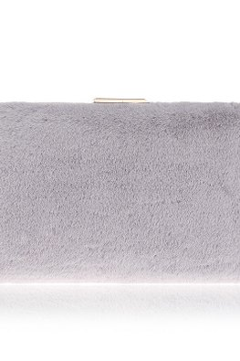 Assorted Colours Fur Clutch