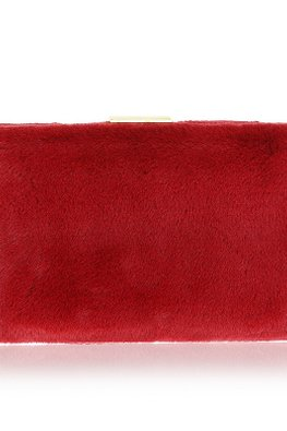 Assorted Colours Fur Clutch