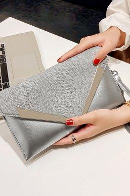 Silver V-Hand / Sling Bag (Express)