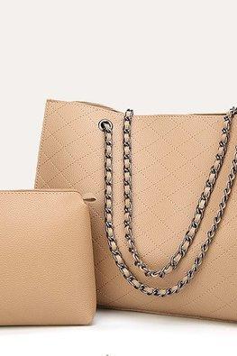 Assorted Colours Shoulder Diamond Etched Bag