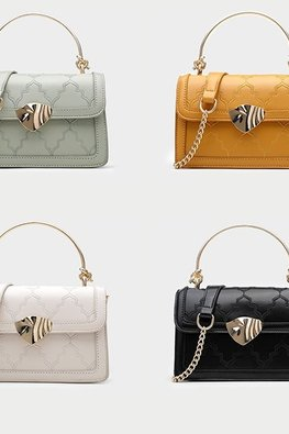 Assorted Colours Classic Handbag