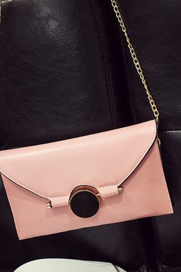 Assorted Colours Rectangular Envelope Bag