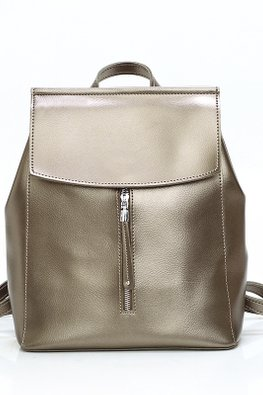 Assorted Colours Front Zip Backpack
