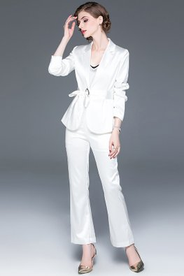 Red / White 2-pc Top & Bottom Suit