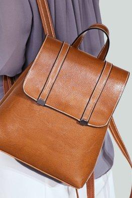 Assorted Colours 2-Line Flap Buckle Bag
