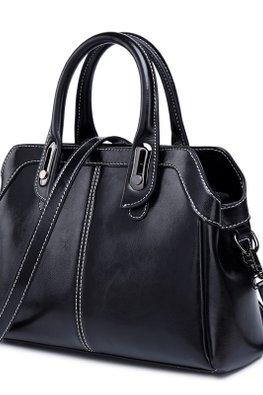 Brown / Black Multi Inner Compartments Bag