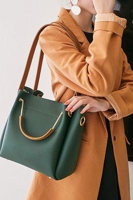 Assorted Colours 2-Way Hand & Shoulder Bag