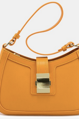 Assorted Colours Buckle-Over Zip Hand / Sling Bag